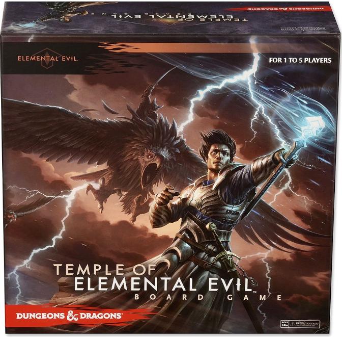 Temple of Elemental Evil D&D Board Game