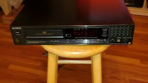 SONY-CDP-208ESD-COMPACT-DISC-PLAYER-ES-SERIES-IN-WORKING-CONDITION