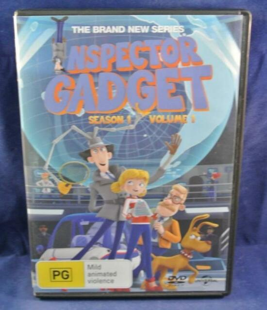 INSPECTOR GADGET SEASON 1 VOL 1 - DVD Movie Aus R4 Like New Free Postage Oz Wide