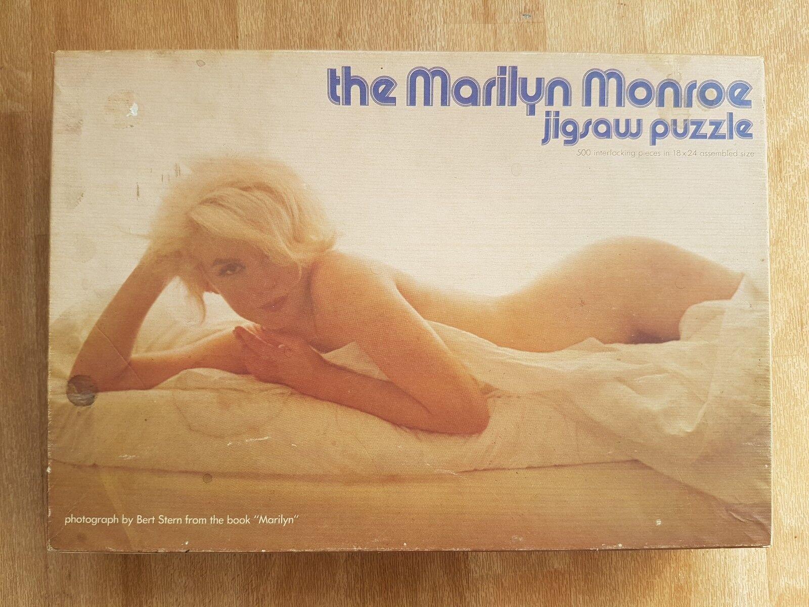 MARILYN MONROE JIGSAW PUZZLE VINTAGE RETRO RARE TOY GAME