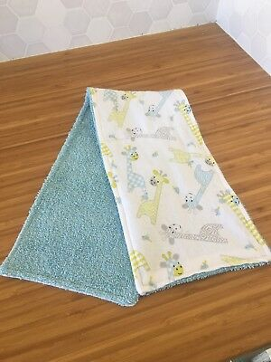 Feeding Generous Super Soft And Absorbent Handmade Baby Burp Cloth For Sale