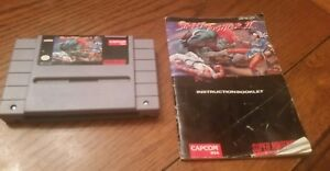 Street Fighter II 2 (Super Nintendo Entertainment System, 1992) TESTED /w manual