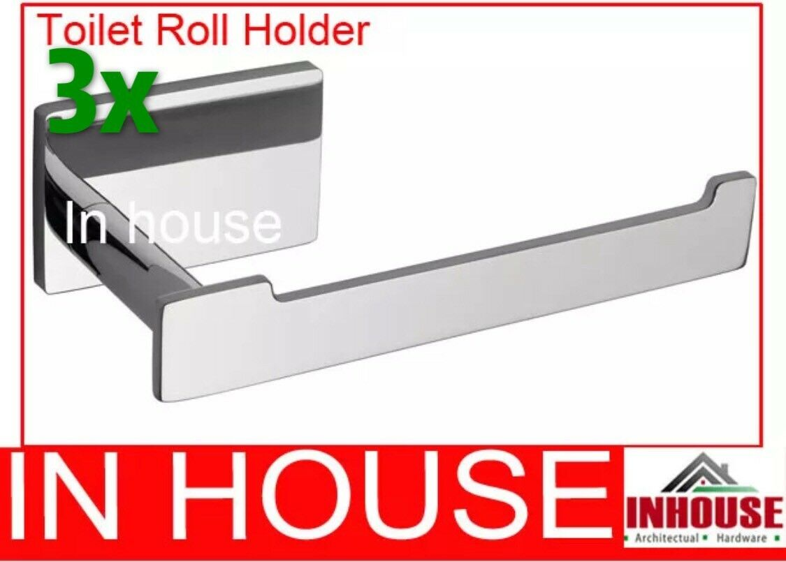 3x Toilet Roll Holder 7703 Free Shipping