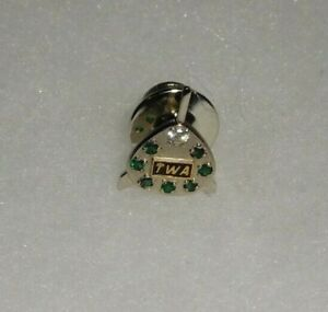 HARD-TO-FIND-VINTAGE-TWA-35-YEAR-SERVICE-PIN-1-10-10K-GF-TRANS-WORLD-AIRLINES