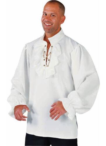 off white Pirate // Zorro // Dandy etc Period Shirt Creme