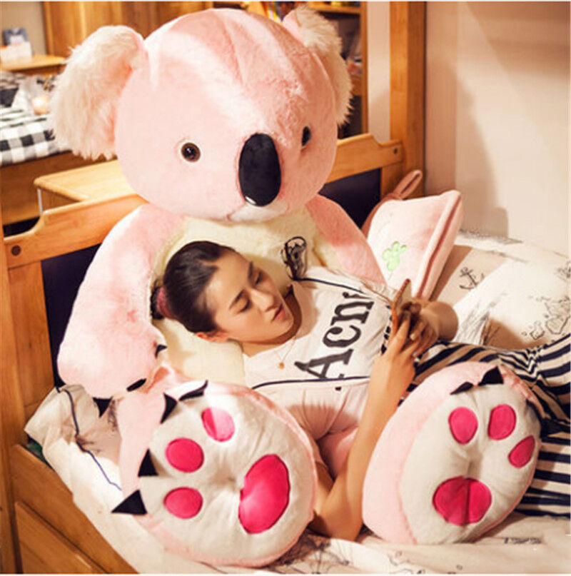 Giant Giant Giant Hung Australia Koala Plush Soft Doll Stuffed Animal Pillow Accompany Toy @ 81020e