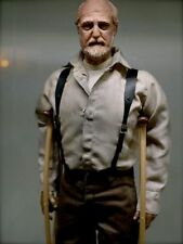 Custom painted walking dead hershel head for 12 inch figure