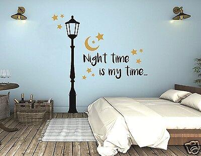 Wandtattoo Schlafzimmer Wandtatoo Kinderzimmer Laterne mit Sternen Night  pkm23 | eBay