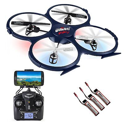 Udi U818a Wifi Rc Quadcopter Drone For Beginners Fpv Best Rtf Uav With 2.4gh High Safety Rc Model Vehicles & Kits