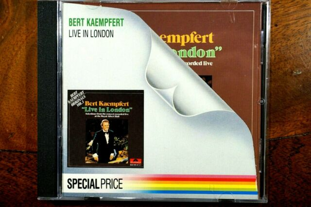 Bert Kaempfert - Live In London  -  CD,VG