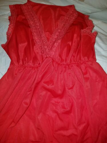 Vintage sexy red Nancy King size small