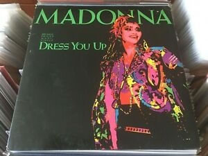 Madonna-Dress-You-Up-12-034-Maxi-Single-45rpm-Out-Of-Print-EX-NM-POLP2780