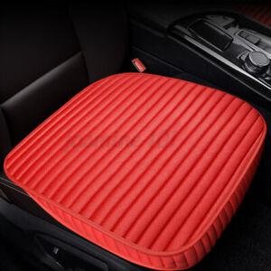 1X 2x Universal Vorne Auto Sitzkissen Sitzauflage Sitzbezüge KFZ Sitzmatte Flach