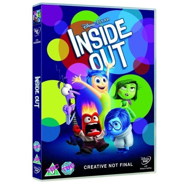 Inside Out Disney Pixar 2015 Oscar Winning Dvd For Sale Online Ebay