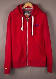 SUPERDRY-Men-Orange-Label-Casual-Hoodie-Jumper-Sweater-Size-2XL-XXL-ATZ1075