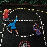 Basketball Court Stencil on sale