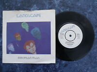 "Landscape - European Man. 7"" vinyl single (7v669)"