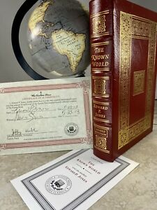 The Known World by Edward P. Jones  Signed Modern Classic EASTON PRESS