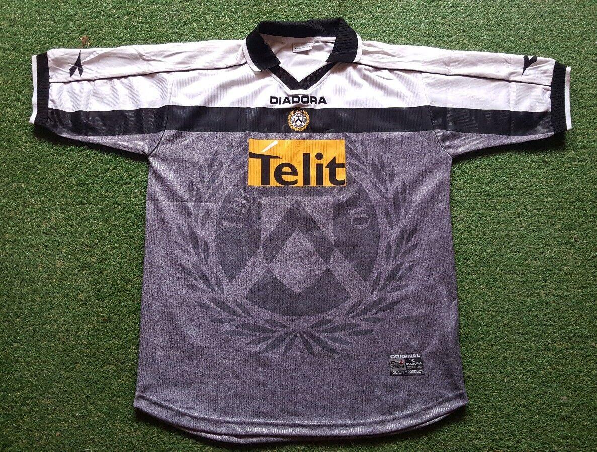 Maglia Udinese Calcio Calcio Calcio XXL 00/01 Diadora Shirt Camiseta trikot Telit 93028d