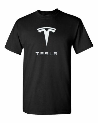 Tesla Motors logo T shirt UNISEX NEW!! M-L-XL-2XL