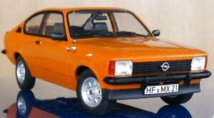 OPEL C Kadett GT/E Coupe - 1977 - Limited Edition - Orange - Norev 1:18