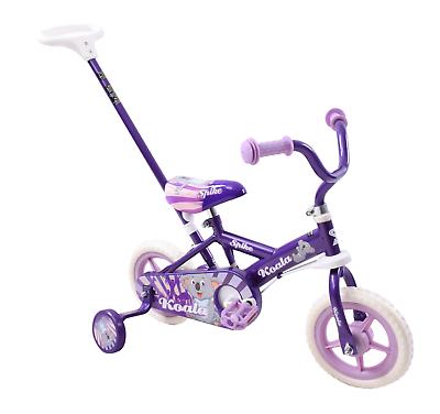 Koala 10 Quot Wheel Kids Childs Steering Girls Training Bike