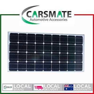 100W 12V SOLAR PANEL HOME GENERATOR CARAVAN CAMPING POWER CHARGING MONO KIT