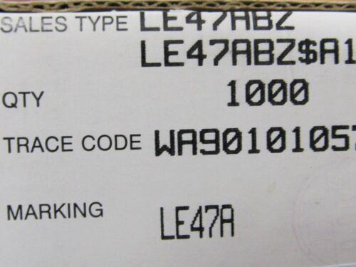 10x LE47ABZ STM Spannungsregler 4,7V 0,1A TO92 Low Drop Voltage Regulator 10pcs