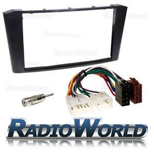 Toyota-Avensis-T25-Stereo-Radio-Fitting-Kit-Fascia-Iso-Aerial-Adaptor-DFP-11-17