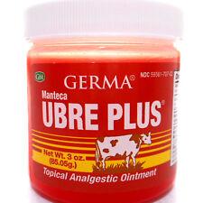 Manteca Ubre Plus Tea Tree Oil Analgesic Ointment Muscle Aches Pain Pomada Dolor