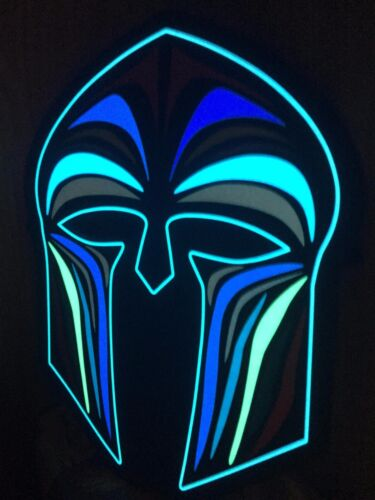 Spartan DEL clignotant Masque Grec Romain Festival Party Rave masque