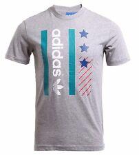 Adidas Archive Catalog Mens Tee T Shirt Short Sleeve Top Multi CD0914 RW57