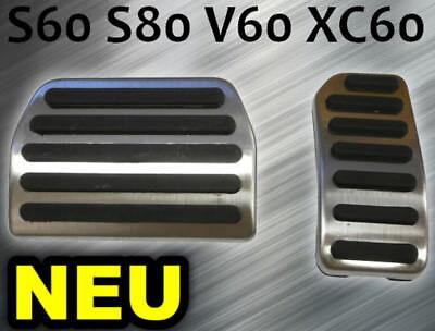 Fußpedal Pedalset Pedale Pedalkappen Gas und Brems Pedal für Volvo XC60 S60 V60