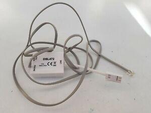 Modem Adsl Ligne Téléphonique, Dsl472, Boîte De Raccordement-afficher Le Titre D'origine