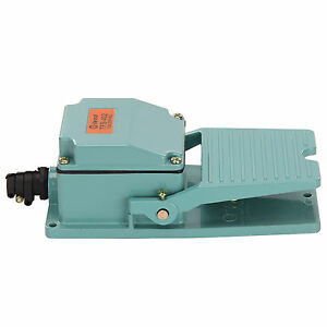 Antislip-Industrial-Foot-Operated-Pedal-Switch-Footswitch-Tool-AC-250V-10A-Type