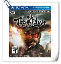 PSV VITA TOUKIDEN 討鬼傳 中文 英文 THE AGE OF DEMONS Action Koei Tecmo Games