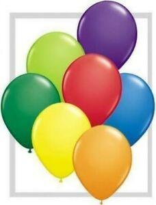 Fashion-Colour-Qualatex-11-034-Latex-Balloons-x-100-You-Choose-The-colour