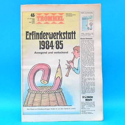 Trommel 45/1984 | Ddr-zeitschrift Pioniere | Fleischkombinat Mz Simson Wolgograd Auswahlmaterialien