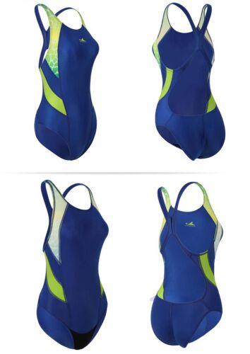 One piece swimsuit women racing /& training swimsuit Yingfa 946 Blue swimsuit