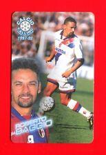 CALCIO CALLING 1997-98 Panini 1997 - Card n. 6 - ROBERTO BAGGIO - BOLOGNA -New