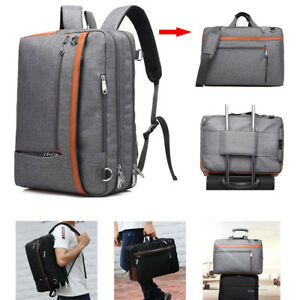 a8080b282c5f Details about 2 in 1 Multi-functional Men's Backpack Business Briefcase 17