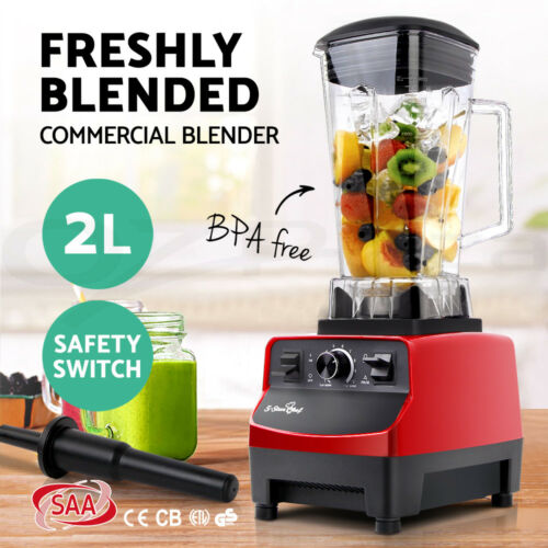 1 of 1 - NEW Commercial Blender - Mixer Juicer Food Processor Smoothie Ice Crush Brand