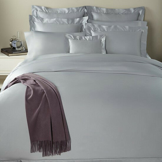 Sferra GIOTTO F QUEEN DUVET COVER  610TC ICE blueeE Egyptian Cotton  ITALY - NEW
