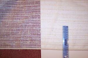 "3.33 Yards~ADO Casement FABRIC-Seamless 102""wide-Neutrals-Polyester w/ Hem-NLA"