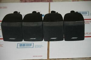 Lot Of 4 Bose Cube Speakers for Surround Sound Systems