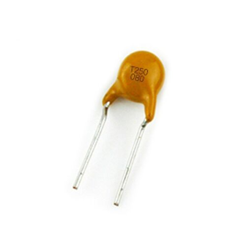 20PCS TRF250-080 RF080 250V 0.08A 80MA PPTC Resettable Fuse