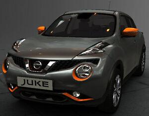 new nissan juke exclusive exterior style pack orange new. Black Bedroom Furniture Sets. Home Design Ideas