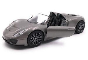 Maquette-de-Voiture-Porsche-918-Hypercar-Sport-Auto-Echelle-1-3-4-39-Licence