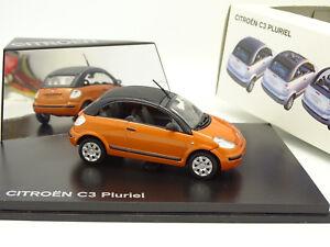 Norev-1-43-Citroen-C3-PLuriel-Orange