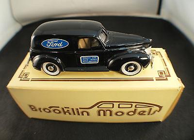 Brooklin Brk 9 Ford Sedan Delivery -stelle 1940 Neu In Originalverpackung Selten